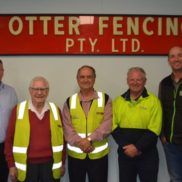 A combined 100 years of service with Otter Fencing